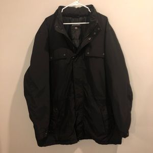 Michael Kors Winter coat with hood Nylon Black